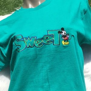 Vintage Disney Mickey Mouse 90s T Shirt Tee